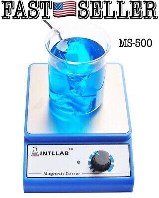 Intllab Magnetic Stirrer Stainless Steel Mixer With Stir Bar 3000ml Capacity Nib