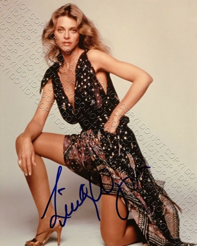 REPRINT 8x10 SIGNED AUTOGRAPHED PHOTO PICTURE LINDSEY WAGNER BIONIC WOMAN SERIES