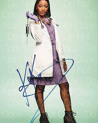 Scream Queens Signed Keke Palmer 8X10 Photo Picture Poster Autograph Rp