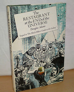 Douglas-Adams-Restaurant-at-the-end-of-the-Universe-UK-1st-edition-Hardback-HB