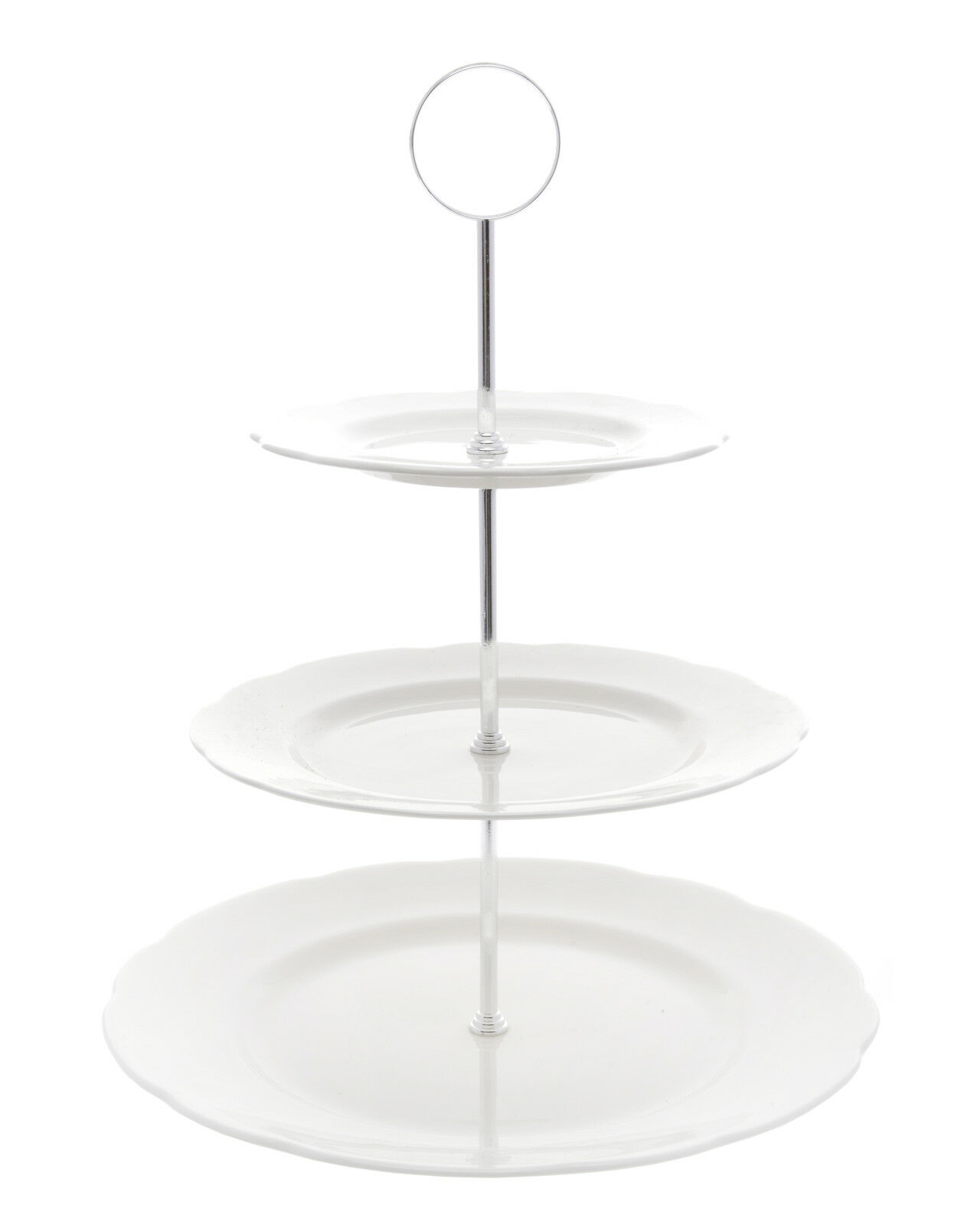 Tier Vintage Glass Cake Stand