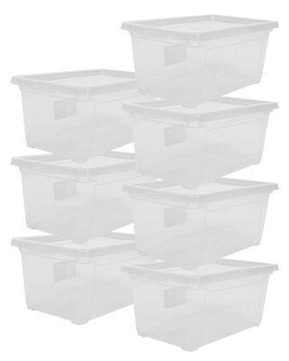 Aufbewahrungsbox Sammelbox Lagerbox Gerätebox Stapelbox Unterbettbox Easy XS 7 x