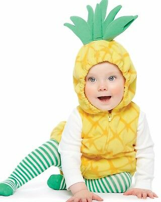 Carters Girls Pineapple Halloween Costume Size 18 Months NEW](Halloween Costumes 18 Month Girl)