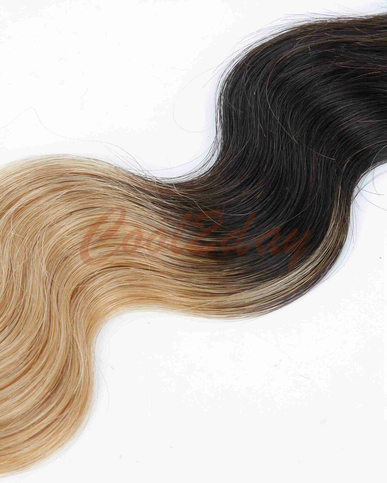 Body Wave Ombre Blonde 100 Brazilian Human Hair Extensions 1 Bundle