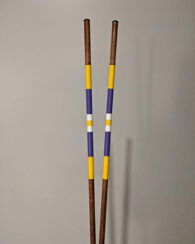 Custom Hand Crafted Hickory Alignment Sticks