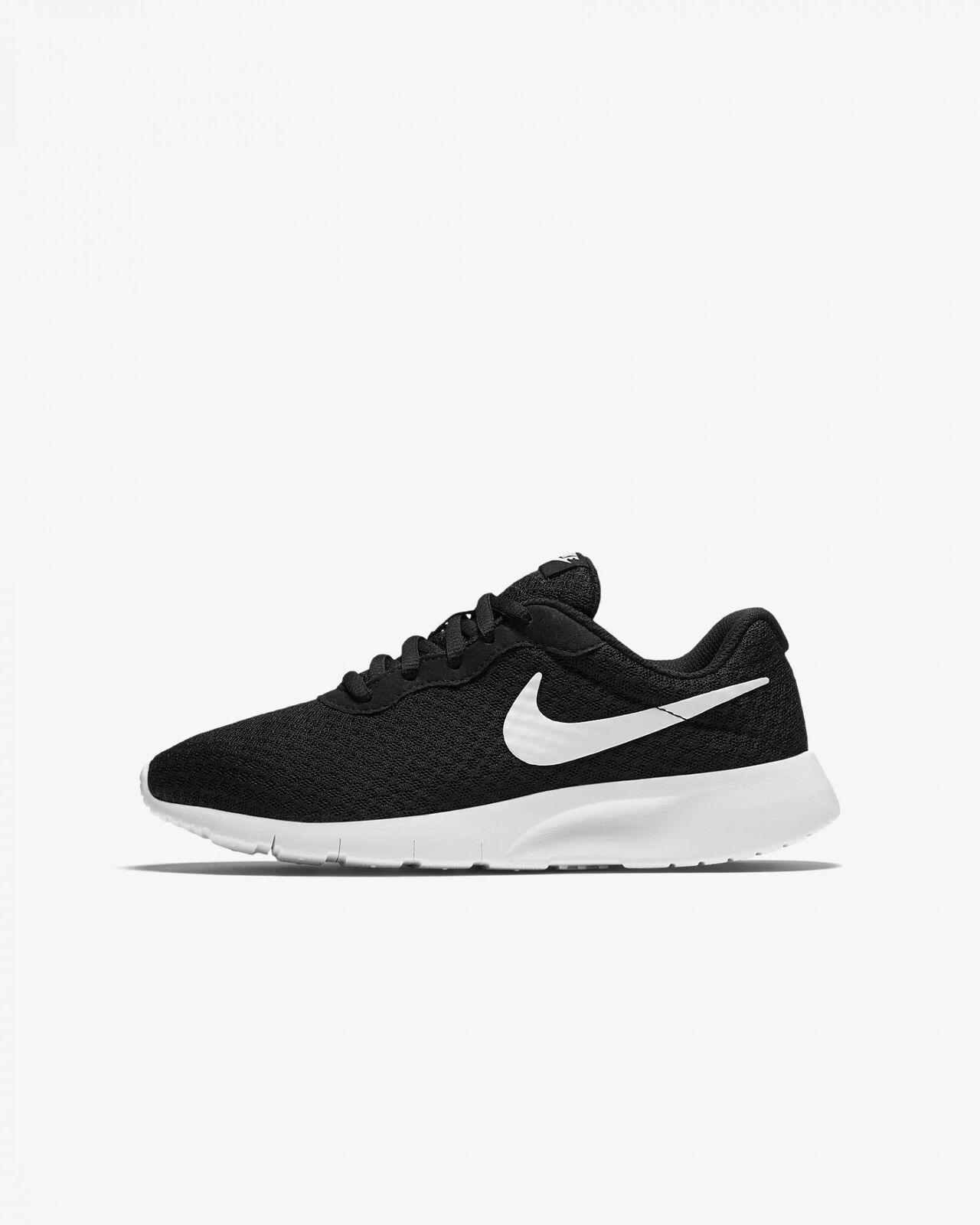 Detalles de Nike Niños Ocio Correr Tanjun (GS) Blanco Negro