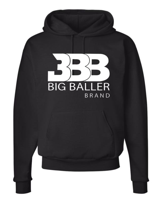 Limited Classic Hoodie  BBB Big Baller Brand LOS ANGELES  LONZO LAVAR 2 MELO