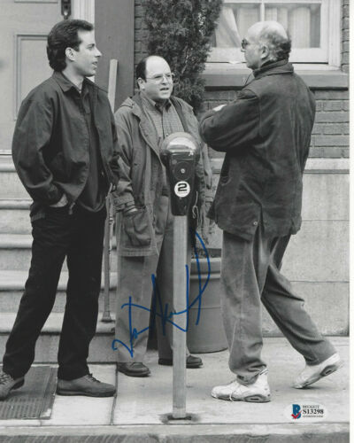 JASON ALEXANDER SIGNED 'SEINFELD' GEORGE COSTANZA 8x10 PHOTO B BECKETT BAS COA