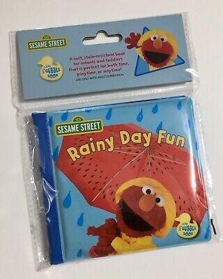 """Elmo Bubbles (123 Sesame Street Bath Time Bubble Book, Toy, """"RAINY DAY FUN"""" With ELMO,)"""
