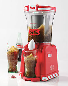coca cola slush machine
