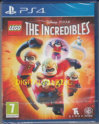 The Incredibles PS4 PlayStation 4 Brand New Factory Sealed