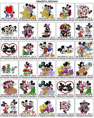 8000+/- CARTOON DISNEY TV BROTHER EMBROIDERY MACHINE DESIGN COLLECTION PES ON CD