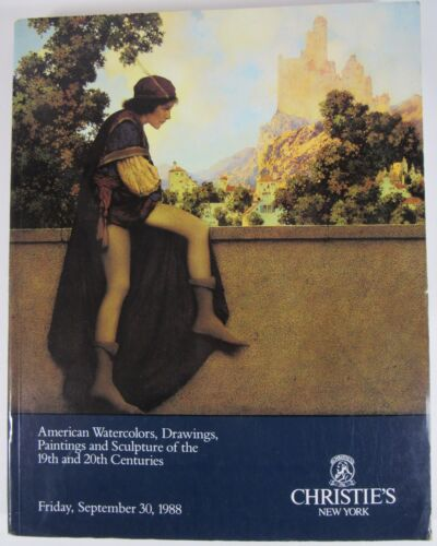 CHRISTIE'S New York American Painting Parrish Cover Sept 1988 Auction Catalog