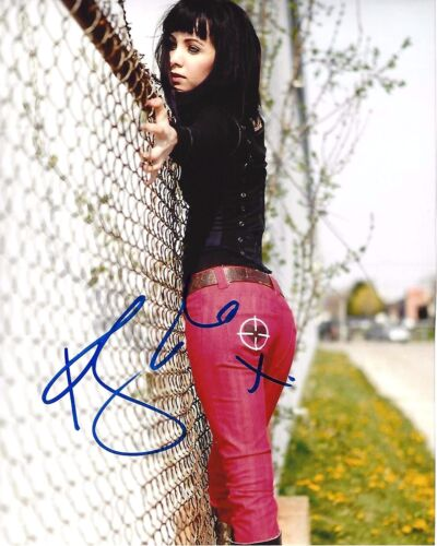 KSENIA SOLO SIGNED AUTHENTIC 'LOST GIRL' 8X10 PHOTO 3 w/COA TURN SEXY ACTRESS