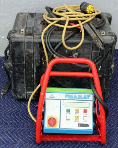 Friatec Friamat Electrofusion Machine Plastic Pipe Fusion With Case
