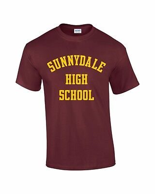 SUNNYDALE HIGH SCHOOL, Mens T-Shirt, Buffy the Vampire Slayer, Halloween Costume
