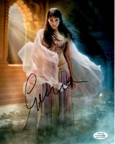 Gemma Arterton Prince of Persia Autographed Signed 8x10 Photo ACOA #1