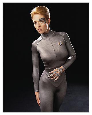 Star Trek  Voyager    Seven Of Nine   Sexy  Jeri Ryan  Glossy 8X10 Photo