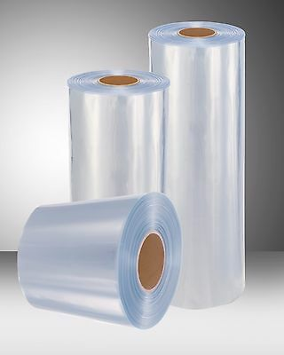 30 1500 Ft 100 Gauge Thickness Pvc Heat Shrink Wrap Film Clear Centerfold