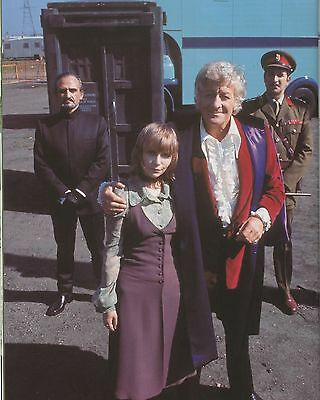 """Katy Manning Dr Who 10"""" x 8"""" Photograph no 4"""