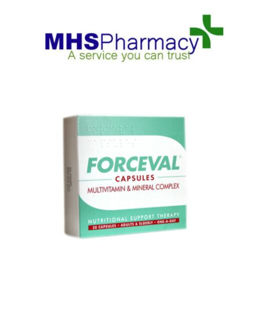 Forceval Capsules Multivitamins - 30 Capsules