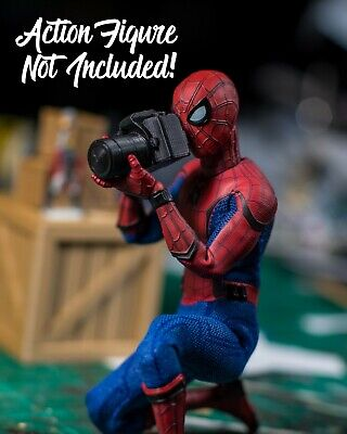 Miniature DSLR Camera ACCESSORY ONLY Mezco, Marvel Legends, Dollhouse 1/12 for sale  Shipping to India