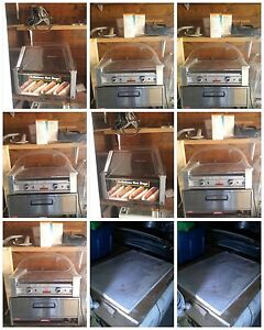 60 quart dough mixer with all the attachments pizza oven