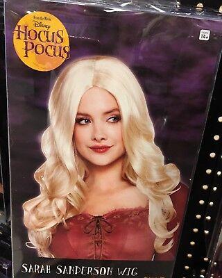 HOCUS POCUS SARAH SANDERSON WIG ADULT WOMENS ONE SIZE NEW - Hocus Pocus Costumes Sarah