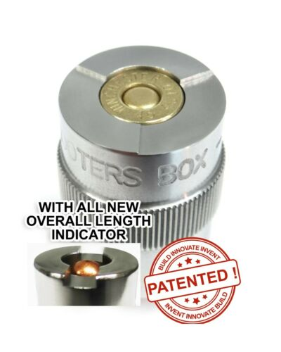 45 ACP Case & Ammunition Gauge PATENTED - Check Your Reloads & Ammo - Free Ship!