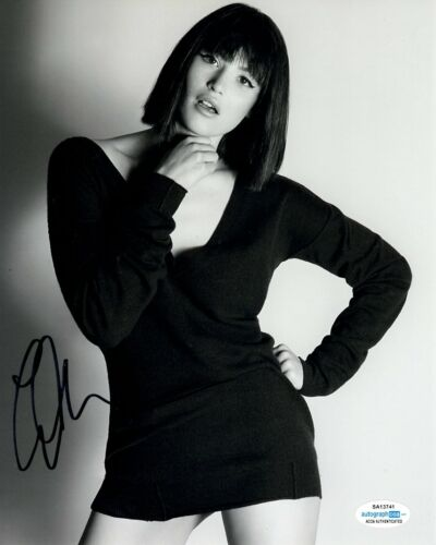 Gemma Arterton Sexy Autographed Signed 8x10 Photo ACOA #2
