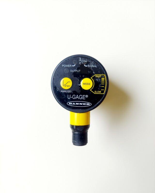 Banner U-Gage Ultrasonic Sensor T30UXIAQ8