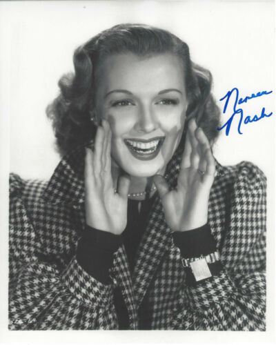 NOREEN NASH SIGNED AUTHENTIC PHANTOM FROM SPACE 8X10 PHOTO 3 w/COA ACTRESS GIANT
