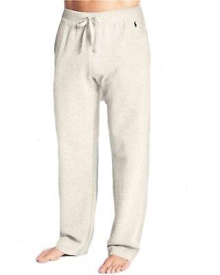 New - Polo Ralph Lauren Mens Waffle Thermal Lounge/Sleep Pants: IVORY : S - XL