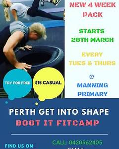 Boot It Fitcamp Manning South Perth Area Preview