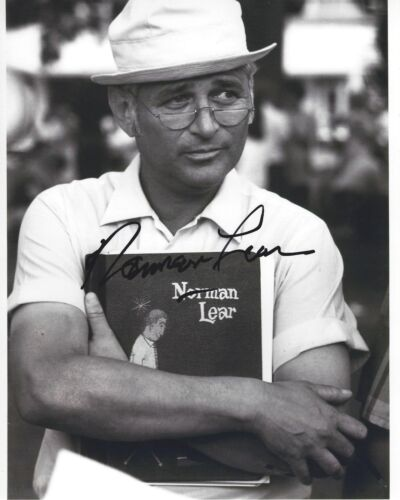 TV WRITER NORMAN LEAR SIGNED 8X10 PHOTO W/COA ALL IN THE FAMILY THE JEFFERSONS