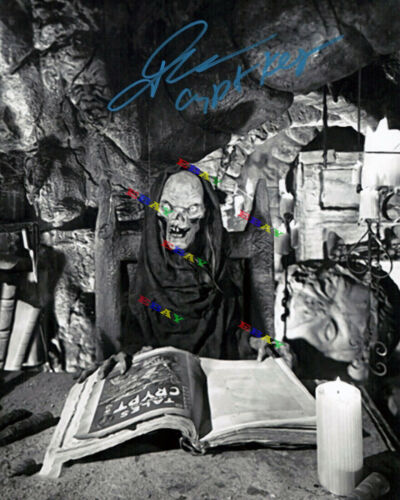 JOHN KASSIR  TALES FROM CRYPT Autographed Signed Photo Reprint