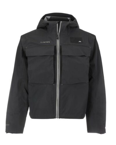 Simms Guide Classic Wading Jacket Color: Carbon Size: XL