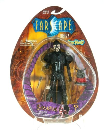 NEW SCORPIUS MASTER OF EVIL SPECIAL EDITION SERIES 2 FARSCAPE ACTION FIGURE