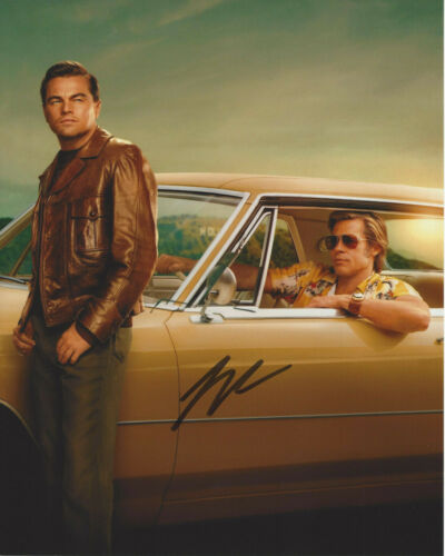 LEONARDO DICAPRIO SIGNED 'ONCE UPON A TIME IN HOLLYWOOD' 8x10 PHOTO B COA PROOF