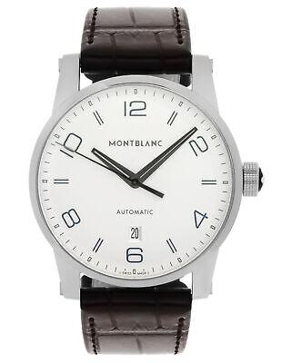 MONTBLANC TIMEWALKER THREE HANDS & DATE AUTOMATIC MEN'S WATCH $3,500