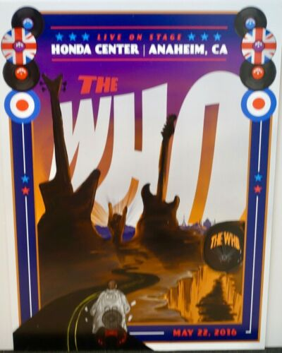"""THE WHO --  """"Hits 50"""" Tour 2016  --  Rocks the Honda Center in Anaheim"""