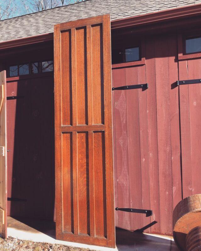 Large Antique Oak Panel