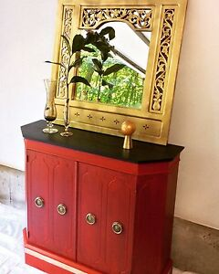 Console & mirror with Glam!