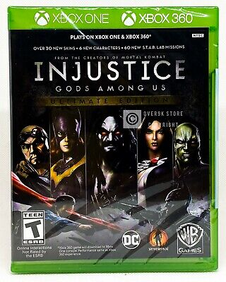 Injustice Gods Among Us Ultimate Edition - Xbox 360 / Xbox One - Brand New