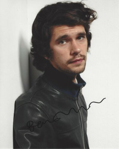 BEN WHISHAW SIGNED 8x10 PHOTO w/COA JAMES BOND SKYFALL NO TIME TO DIE SPECTRE