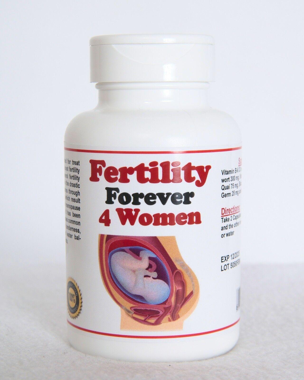 Tratamiento de Infertilidad en la Mujer -  (120 caps - Made in USA)