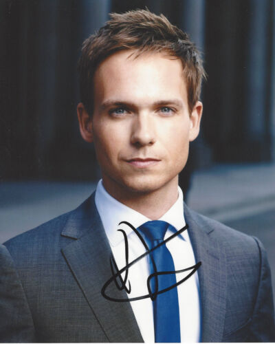 PATRICK J. ADAMS SIGNED AUTHENTIC SUITS 'MIKE' TV 8x10 PHOTO w/COA PROOF ACTOR