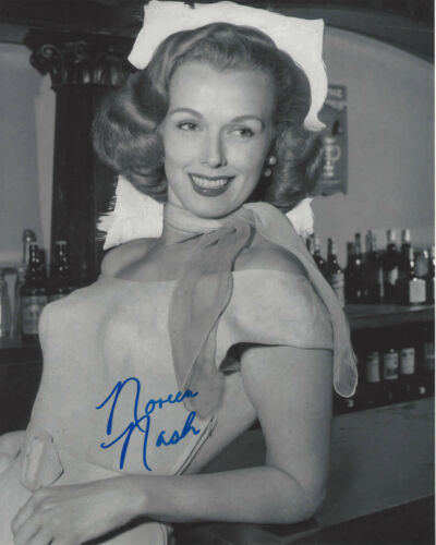 NOREEN NASH SIGNED AUTHENTIC PHANTOM FROM SPACE 8X10 PHOTO w/COA ACTRESS GIANT