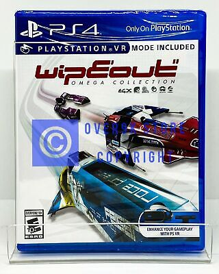 Wipeout Omega Collection VR - PS4 - Brand New | Factory Sealed