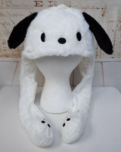 Sanrio Pochacco Hat with Moving Ears Plush Costume Kawaii